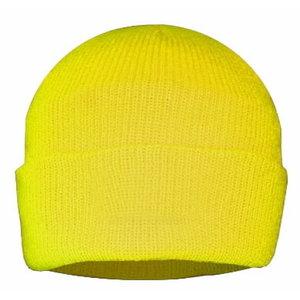 Augstas redzamības cepure ar Thinsulate oderi, dzeltena