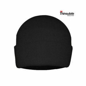 Müts Thinsulate vooder, must, Pesso