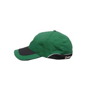 Kepurė su snapeliu, žalia/juoda, Pesso