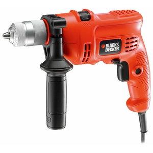 Percussion hammer drill KR504CRE / 500W, Black+Decker