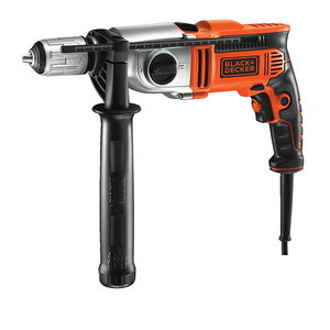 Percussion hammer drill KR7532K / 750W, Black+Decker