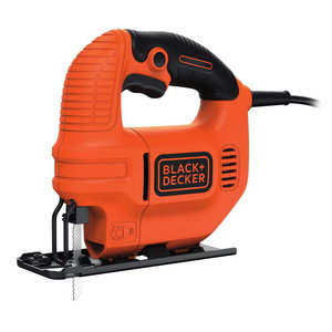 Figūrzāģis KS501EK / 65 mm / 400W, Black+Decker