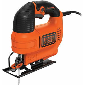 Figūrzāģis KS701EK / 70 mm / 520W, Kitbox, Black+Decker