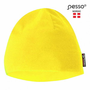 Warm winter Fleece Cap, yellow, Pesso