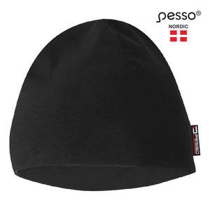 Warm winter Fleece Cap, black, Pesso