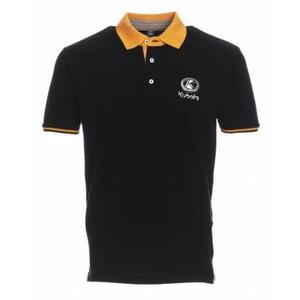 Men's short sleeved polo shirt M, Kubota