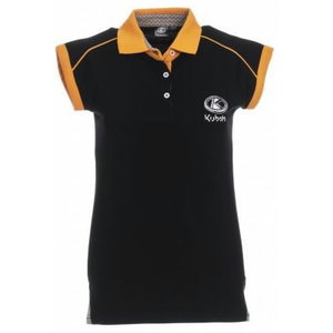 Women's short sleeved polo shirt M, Kubota