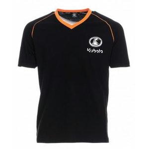 Miesten t-paita, musta M, Kubota