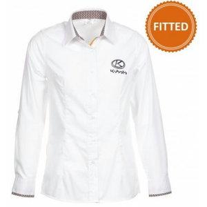 Fitted cut : Women's long sleeved shirt L, Kubota