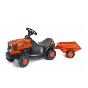 Jooksu traktor Kubota M7151 + käru
