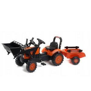 Pealeistutav traktor KUBOTA M7171 +laadur+käru