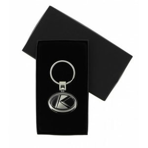 Oval K Key ring , Kubota