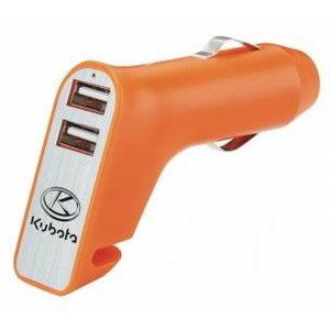 USB laturi + ikkunavasara + turvavyön leikkuri , Kubota