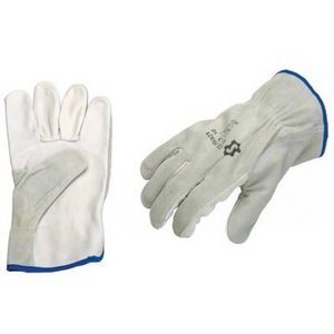 Gloves, cowhide back, softskin palm