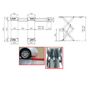 Scissor lift STRATOS SRM, 3,2T, Intertech