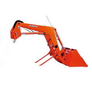 Front loader  LA525EC for tractor  L1361, Kubota
