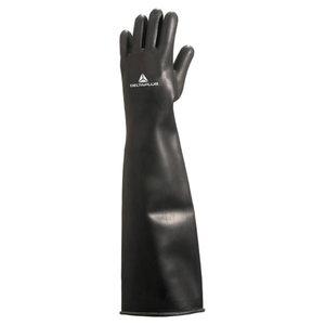 Kinnas, lateks, must, pikkus 60 cm 10/11, Delta Plus