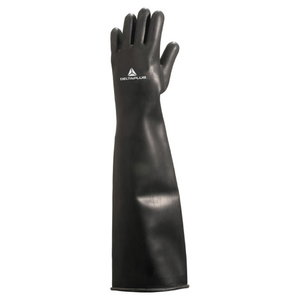 Heavy Weight Latex Chlorinated dipped glove, lenght 60cm 10/11, Delta Plus