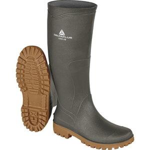 Rubber boots Land OB SRA, green/beige, DELTAPLUS