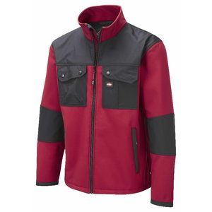Softshell  438 red/black, M, Lee Cooper