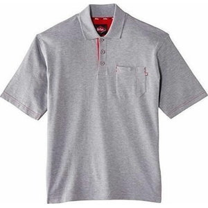 b3ffbff368a Polo pique shirt 011 Grey, 2XL, Lee Cooper