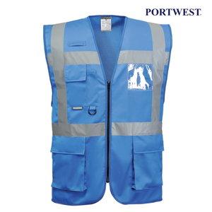 Vest LP476Z, blue with reflectors M