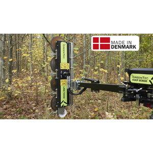 Reach mower head Quadsaw LRS 1402, Spearhead