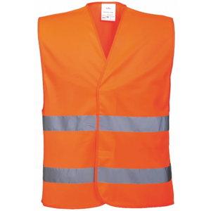 Hi.vis vest LS-RSV001, CL2 orange S/M, Pesso
