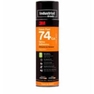 3M™ Foam Fast 74 Spray Adhesive, Orange, 363g/500ml, 3M