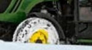 Eesmised poritiivad traktorile  4020, John Deere