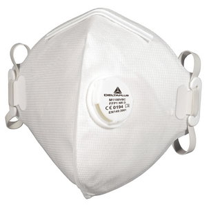 Non woven synthetic fibre disposable mask FFP1 white, Delta Plus