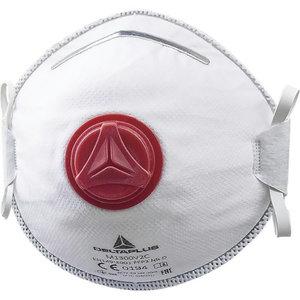 Disposable mask with valve. FFP3, Delta Plus