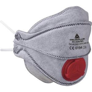 Respiratorius FFP3W M1304VW sulankstomas, iškvėpimo vožtuvas 10 vnt., Delta Plus