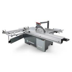 Sliding table saw WA80 TE