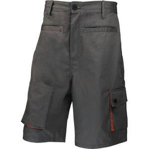 Tööpüksid lühikesed M2BER, hall/oranz XL, Delta Plus