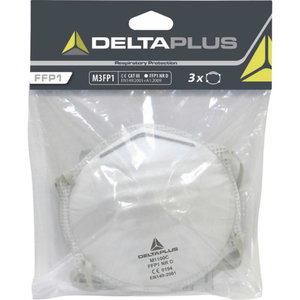 Disposable mask, without valve FFP1, Delta Plus