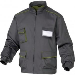 Tööjakk M6VES Panostyle hall/roheline XL, , Delta Plus