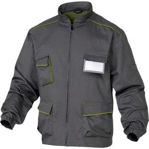 Tööjakk M6VES Panostyle hall/roheline XL, Delta Plus