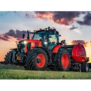 Traktorius  M7133, Kubota