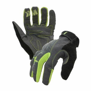 Gloves, mechanic, syntethic leather, 9, Inxs