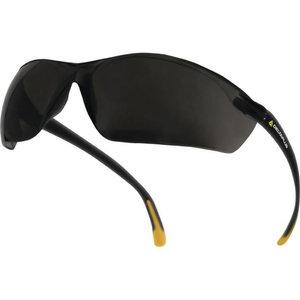 Aizsargbrilles, Meia, polikarbonāta, pelēkas, AR-UV400, Delta Plus