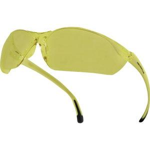 Aizsargbrilles, Meia, polikarbonāta, dzeltenas, AR-UV400, Delta Plus