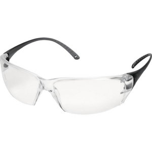 Protective glasses, Milo clear lens, clear frame, Delta Plus