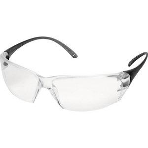 Protective glasses, Milo clear lens, clear frame, Delta Plus