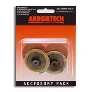 Mini-Sander assorted grits (pkt of 4), Arbortech