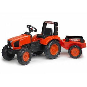 Žaislinis pedalinis traktorius su priekaba 2060AB M135GX