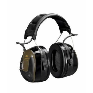 PELTOR™ ProTac™ Shooter Headset, 26 dB, Green, Headband, UU004690630, 3M