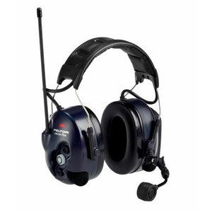 LiteCom Plus PMR 446, ausinės su galvos lankeliu, 3M