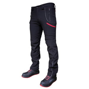 Softshell trousers Nebraska black, Pesso