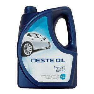 MOOTTORIÖLJY 5W-50  4 LITRAA poistuu, Neste Oil
